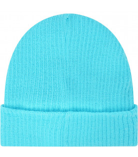 Light blue hat with cloud and stars