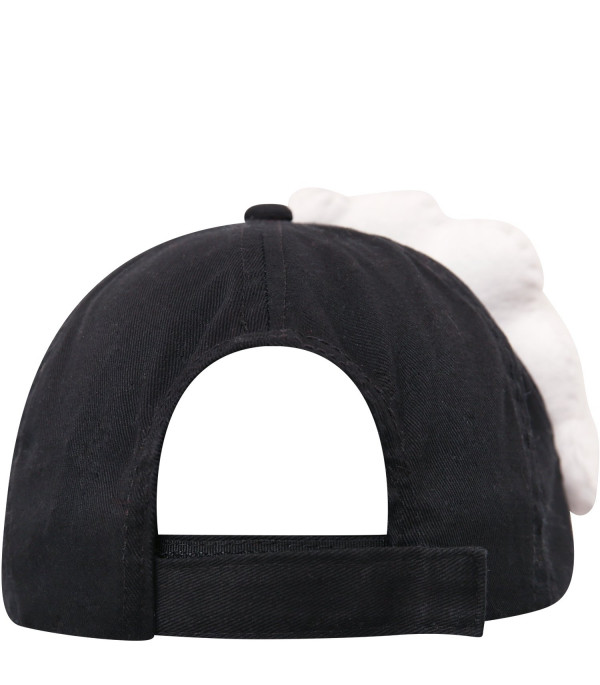 PABLLO DE LA CRUZ Black hat with white cloud