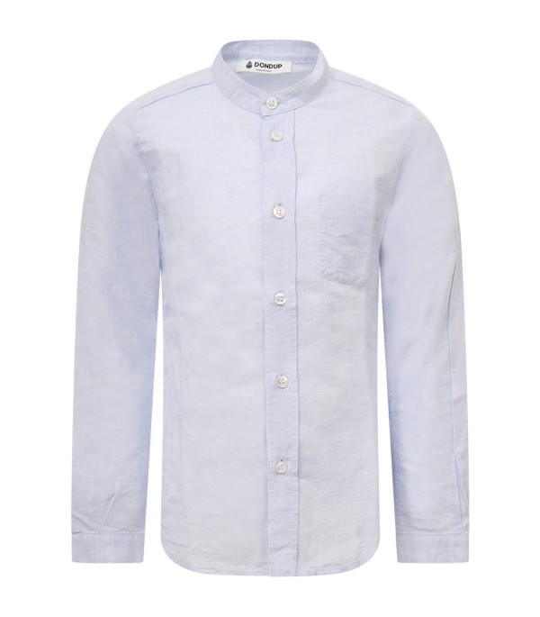 DONDUP KIDS Light blue boy shirt