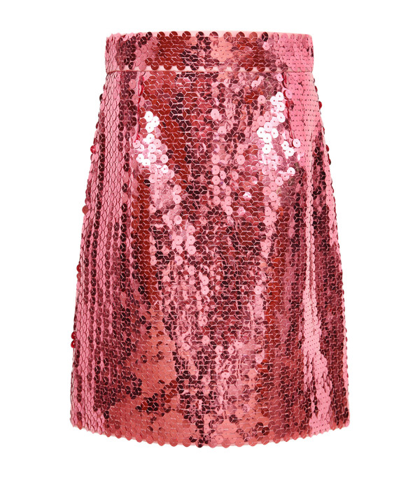 DOLCE & GABBANA KIDS Pink girl skirt