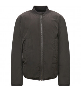 DSQUARED2 Black boy bomber with white logo