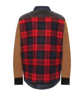 DSQUARED2 Multicolor boy jacket