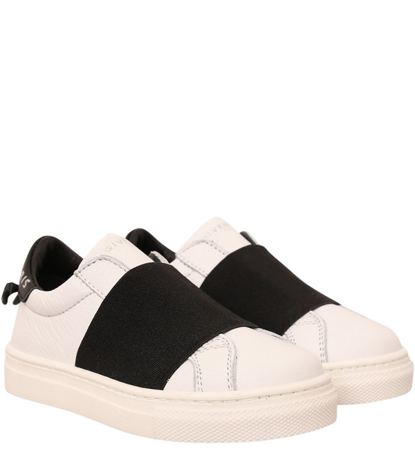 GIVENCHY KIDS White and black sneaker with logo