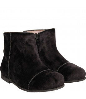 GALLUCCI KIDS Black boot