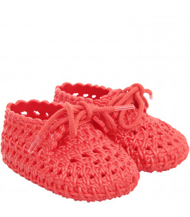 MINI MELISSA Red shoes