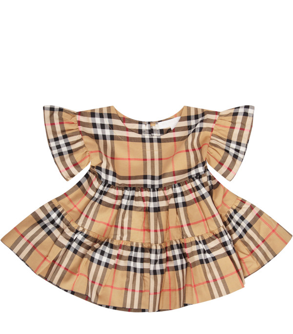BURBERRY KIDS Vintage check dress