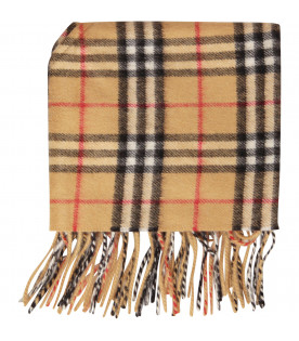 BURBERRY KIDS Vintage check scarf
