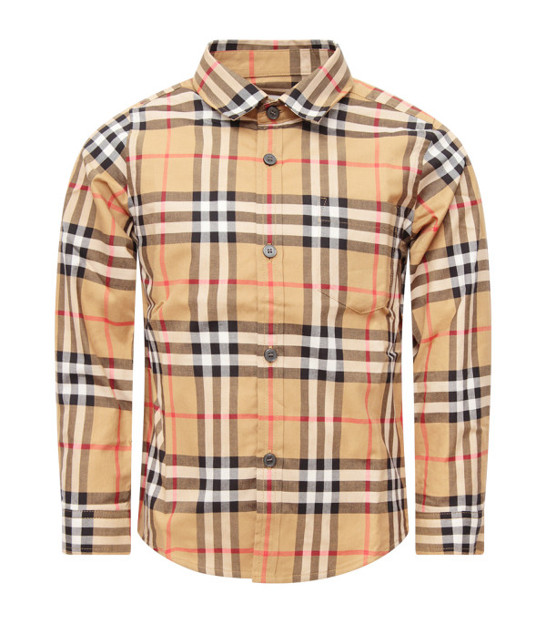 BURBERRY KIDS Vintage checked shirt