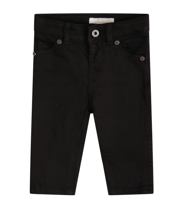 BURBERRY KIDS Black denim jeans