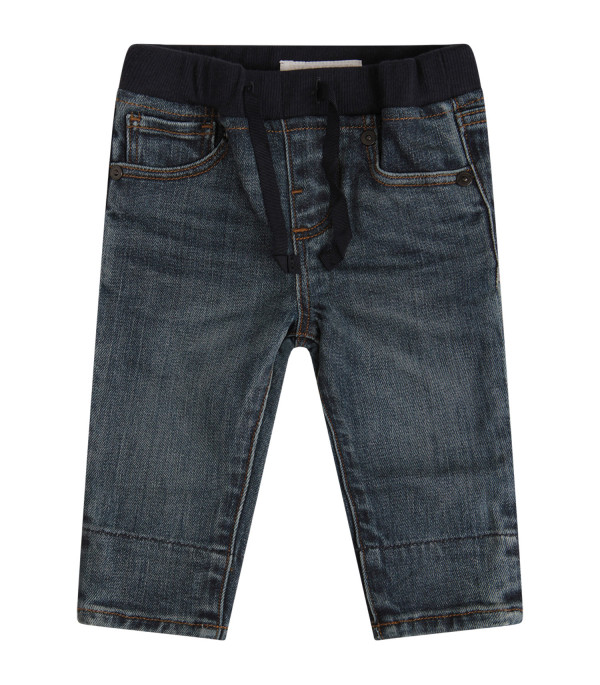BURBERRY KIDS Blue denim jeans