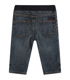 BURBERRY KIDS Jeans blu