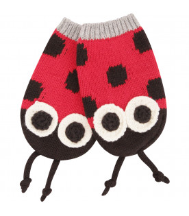 STELLA MCCARTNEY KIDS Set multicolor a forma di coccinella