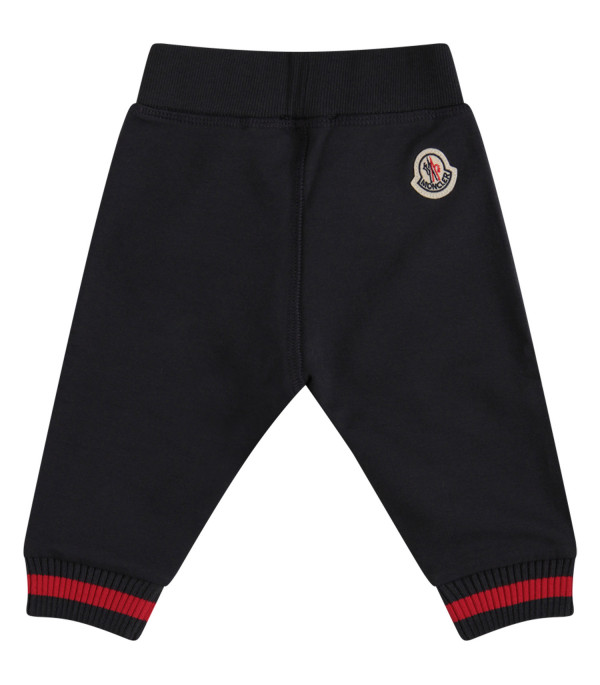 MONCLER KIDS Blue sweatpant