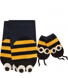 STELLA MCCARTNEY KIDS Set multicolor a forma di ape