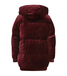 STELLA MCCARTNEY KIDS Bordeaux girl jacket