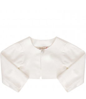 LÒLÒ White cropped jacket
