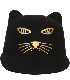 LITTLE MARC JACOBS Cappello nero