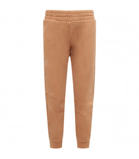 STELLA MCCARTNEY KIDS Camel boy sweatpants