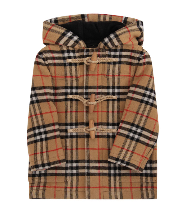 BURBERRY KIDS Vintage check montgomery