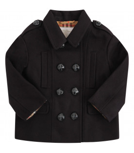 BURBERRY KIDS Cappotto blu