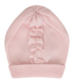 Little Bear Pink hat with ruffle