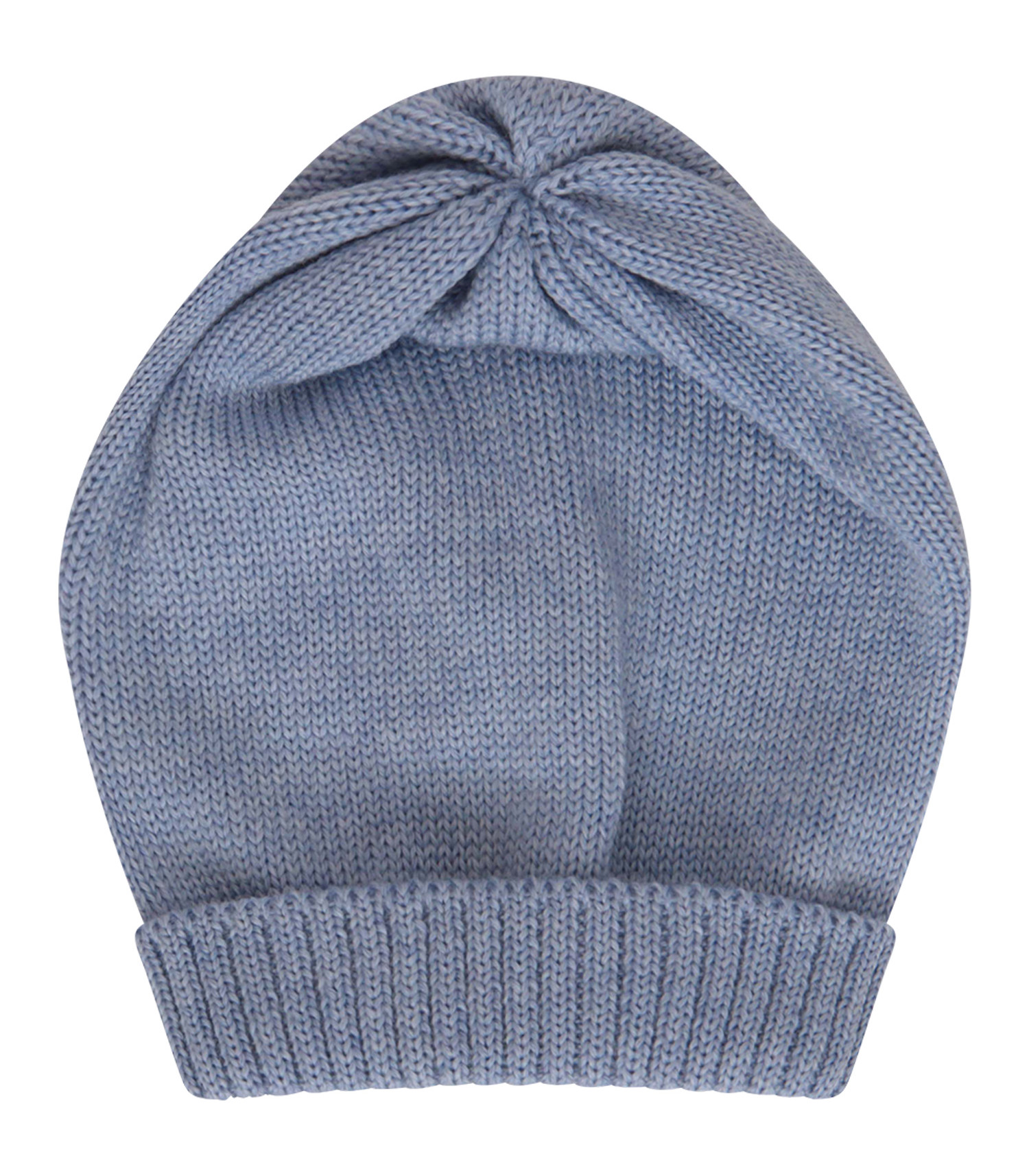 Little Bear Light blue hat with turn-up