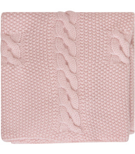 LITTLE BEAR Coperta rosa