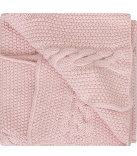 LITTLE BEAR Pink blanket