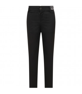 GIVENCHY KIDS Black boy pants