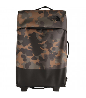 THE NORTH FACE KIDS Valigia camouflage con logo nero