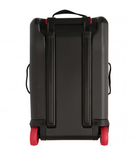 THE NORTH FACE KIDS Camouflage suitcase with black logo