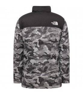 THE NORTH FACE KIDS Colorful boy jacket with whiite logo
