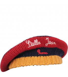 STELLA JEAN KIDS Blue, red and yellow hat