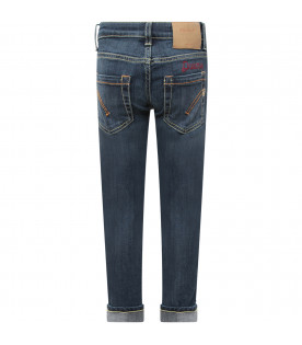 "Light blue girl ""Appetite"" jeans with white writing"