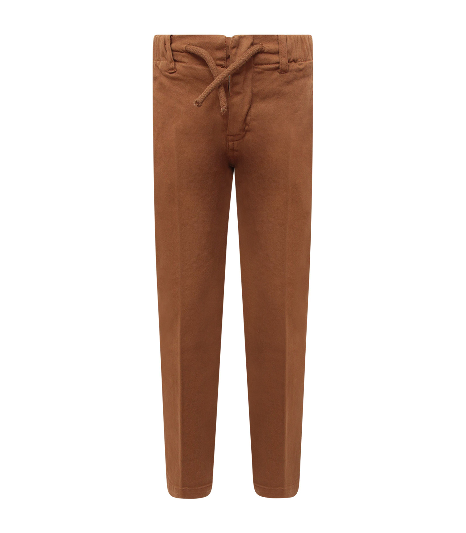 Dondup Kids Camel boy pants with iconic D