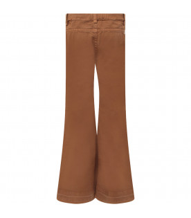 "Camel girl ""Campbell"" jeans with iconic D"