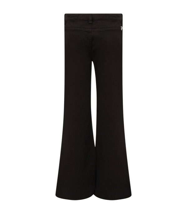 """DONDUP KIDS Black girl """"Campbell"""" jeans with iconic D"""