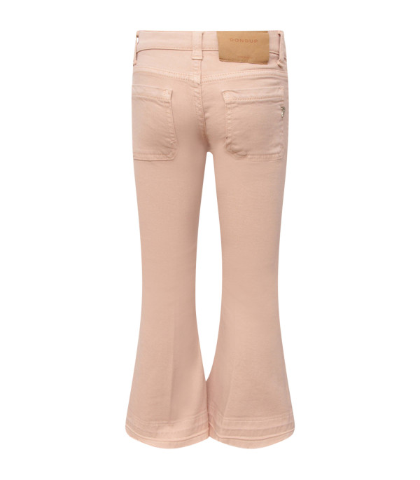 """DONDUP KIDS Pink girl """"Campbell"""" jeans with iconic D"""