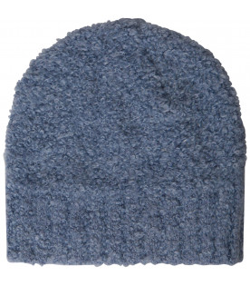 TINYCOTTONS Light blue fluffy hat