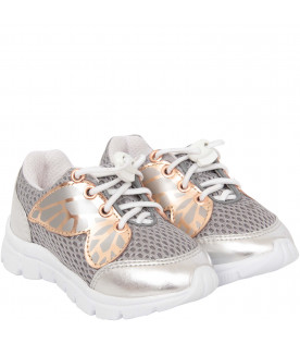 9097dfbafe13 SOPHIA WEBSTER MINI Silver and rose gold