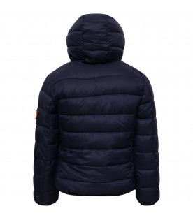 SAVE THE DUCK KIDS Blue boy padded jacket