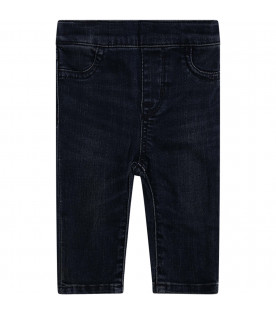 RALPH LAUREN KIDS Blue denim jeans