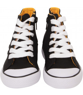 KENZO KIDS Black and yellow snweaker with ete