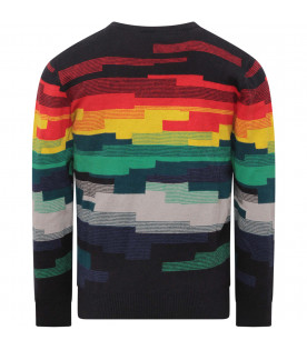 PAUL SMITH JUNIOR Maglione bambino multiolor