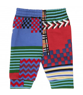 BURBERRY KIDS Pantaloni bambino multicolor