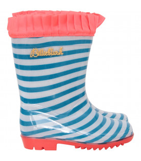 BILLIEBLUSH Colorful rubber rain boots