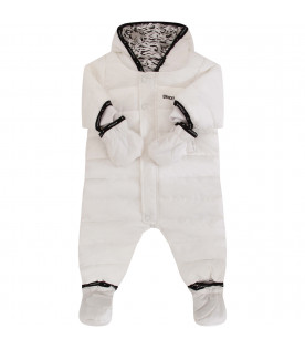 GIVENCHY KIDS White puff overall