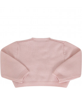 LITTLE BEAR Cardigan rosa