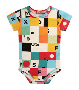 MUMOFSIX Colorful body with black logo and colorful geometrical figures