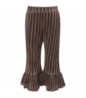 DOUUOD KIDS Colorful girl trousers